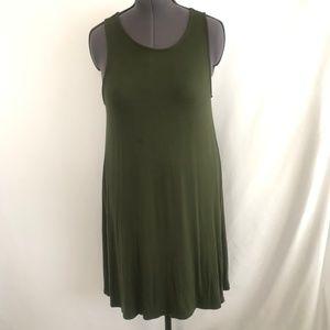 Old Navy Green Sleeveless Dress